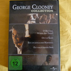 George Clooney - 4 dvd - Film actiune Altele, Engleza