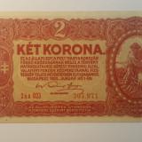 Bancnota ungaria - 2 coroane 1920 - scrie in romana 307971, Europa