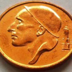 Moneda 50 Centimes - BELGIA, anul 1998 *cod 2210 --- UNC din fasic