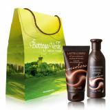 Set cadou - Ciocolata - Gel de dus si lapte de corp cu parfum... - Bottega Verde