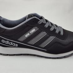 Adidasi Adidas New York - Adidasi barbati, Marime: 40, 41, 42, Culoare: Negru