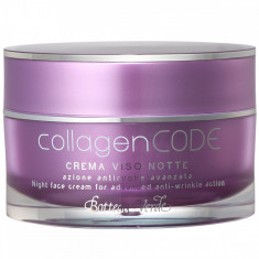 CollagenCODE - Crema de fata de noapte, actiune antirid avans... - Bottega Verde - Crema antirid