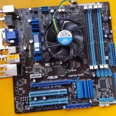 19S.Placa De Baza ASUS P7H55-M PRO, 4xDDR3, Socket 1156+Cooler, Pentru INTEL, Ultra ATX