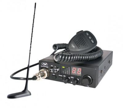 Kit Statie radio CB PNI ESCORT HP 8000 ASQ + Antena PNI Extra 45 + MAG. PNIPACK8 foto