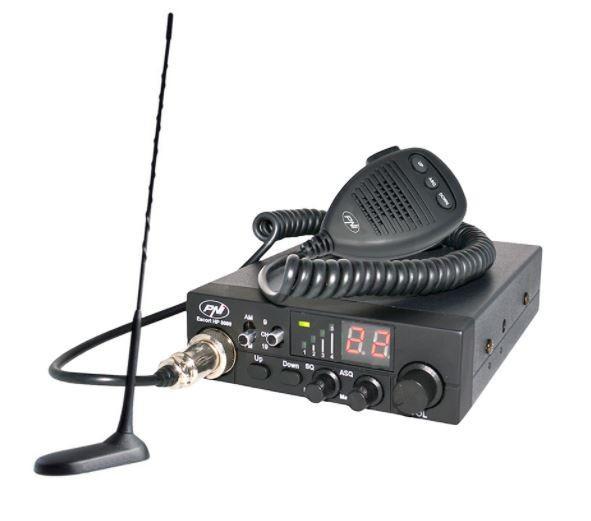 Kit Statie radio CB PNI ESCORT HP 8000 ASQ + Antena PNI Extra 45 + MAG. PNIPACK8