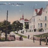 #2068- Romania, Brasso, Brasov c.p. necirculata 1918: Livada postei, animat, Fotografie