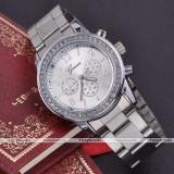 Ceas Geneva silver - Ceas dama Geneva, Fashion, Quartz, Inox, Analog