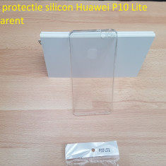 Husa protectie silicon Huawei P10 Lite trasparent - Husa Telefon Huawei, Transparent