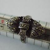 Inel argint cu marcasite -2079