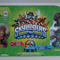 Pachet Joc + Figurine Skylanders Swap Force original sigilat Nintendo Wii - Jocuri WII Activision, Role playing, 3+, Multiplayer