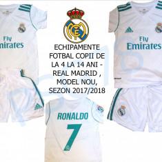 ECHIPAMENTE COPII 4-15 ANI, REAL MADRID.RONALDO.2017-2018, - Set echipament fotbal Adidas, Marime: XXL, XL, L, M, S, XS