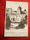 Fotografie 1880- copie- Biserica din Sarindar-pe locul actualului CCA Bucuresti