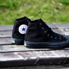 Tenesi Converse All Star negru gheata - Tenisi barbati Converse, Marime: 36, 37, 38, 39, 40, 41, 42, 43, 44, Culoare: Din imagine, Textil