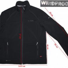 Geaca windstopper softshell Vaude, Windproof 100, barbati, marimea M - Imbracaminte outdoor Vaude, Marime: M, Geci