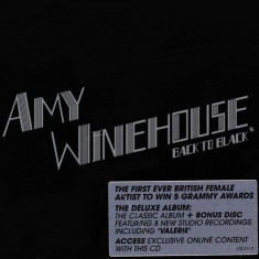 Amy Winehouse Back To Black Deluxe 18 tracks (2cd) - Muzica Blues