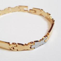Superba bratara 9k GOLD FILLED unisex - Bratara placate cu aur