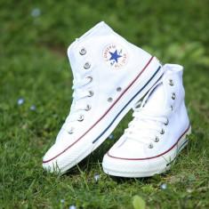 Tenesi Converse All Star alb clasic gheata barbati - Tenisi barbati Converse, Marime: 36, 37, 38, 39, 40, 41, 42, 43, 44, Culoare: Din imagine, Textil