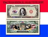 !!! SUA = FANTASY NOTE TJ6 =  INTALNIREA  REAGAN - GORBACIOV  - 2004 - UNC