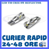 BEC AUTO LED T10 CREE 9W REFLECTOR - POZITII, Universal, ZDM
