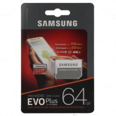 Card memorie microSDXC Samsung Evo 64GB Plus Class 10 - Secure digital (SD) card