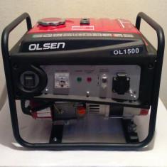 Generator Curent Electric-OLSEN OL1500-4 TIMPI-220V-1kW