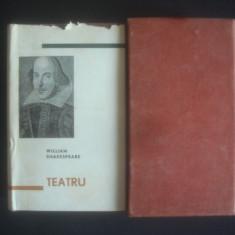 WILLIAM SHAKESPEARE - TEATRU {1964, editie de lux, pe foita de tigarete} - Carte Teatru