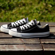 Tenesi Converse All Star negru dama - Tenisi dama Converse, Culoare: Din imagine, Marime: 36, 37, 38, 39, 40, 41, 42, 43, 44, Textil