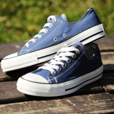 Tenesi Converse All Star albastru barbati - Tenisi barbati Converse, Marime: 36, 37, 38, 39, 40, 41, 42, 43, 44, Culoare: Din imagine, Textil