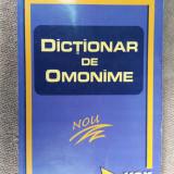 DICTIONAR DE OMONIME - BULGAR, FELECAN