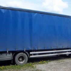 Ansamblu MAN TGL 12.280 / Remorca REMA - Camion