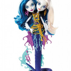 Papusa Monster High Great Scarrier Reef Peri And Pearl Serpentine Mattel
