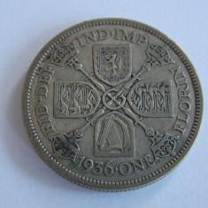 Moneda de argint 1 florin 1936-Anglia -2508, Europa