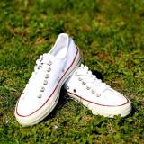 Tenesi Converse All Star alb - Tenisi dama Converse, Culoare: Din imagine, Marime: 37, 43, Textil