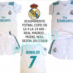 ECHIPAMENTE FOTBAL COPII REAL MADRID-RONALDO, MODEL2017-2018, - Set echipament fotbal Adidas, Marime: XXL, XL, L, M, S