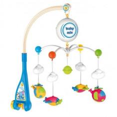 Carusel Muzical Patut Bebe Baby Mix Hs 1667M - Carusel patut