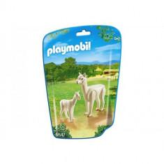 City Life Zoo - Alpaca cu Pui - Figurina Animale Playmobil