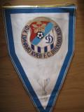 Fanion Dinamo Kiev, vechi, format mare, 45 x 27 cm