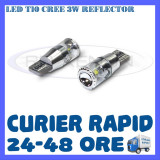 BEC AUTO LED T10 CREE 3W REFLECTOR - POZITII, Universal, ZDM