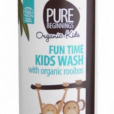 Sampon si gel de dus bio cu rooibos pentru copii, Pure Beginnings 250 ml - Cosmetice copii
