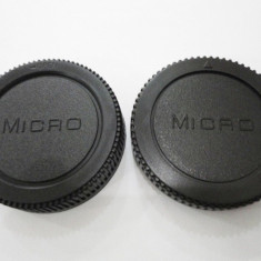 Capac Body + Capac obiectiv pentru Micro 4/3