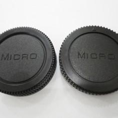 Capac Body + Capac obiectiv pentru Micro 4/3 - Capac Obiectiv Foto