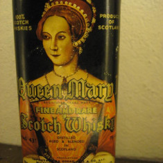Whisky queen marg I fine and rare scotch, cl 75 gr 43 ani 60,