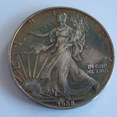 Moneda de argint -1 dolar 1988-America -2505, Europa