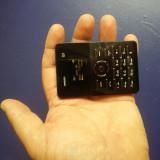 Cel Mai Mic Telefon NOU AIEK Q1 Cat Un Card  Radio Bluetooth  Orice Retea Card