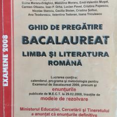 GHID DE PREGATIRE BACALAUREAT LIMBA SI LITERATURA ROMANA 2008 - Teste Bacalaureat