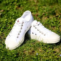 Tenesi Converse All Star alb mono - Tenisi barbati Converse, Marime: 36, 37, 38, 39, 40, 41, 42, 43, 44, Culoare: Din imagine, Textil