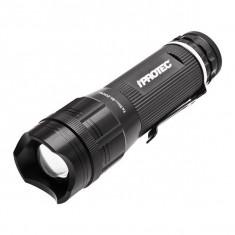 Lanterna iPROTEC PRO 220 Lite (IP5929), Culoare: Negru, Marime: M