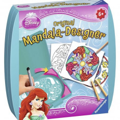 Set De Creatie Mini Mandala Ariel - Jocuri arta si creatie Ravensburger