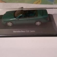 Macheta mercedes benz clk cabrio schuco 1/43 editia pentru dealer - Macheta auto