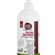 Sampon si gel de dus bio cu rooibos pentru copii, Pure Beginnings, 500 ml - Cosmetice copii
